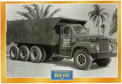 Mack B43S             Glossy   Picture (T383)