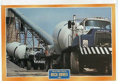Mack  DMMEX               Glossy   Picture (T389)