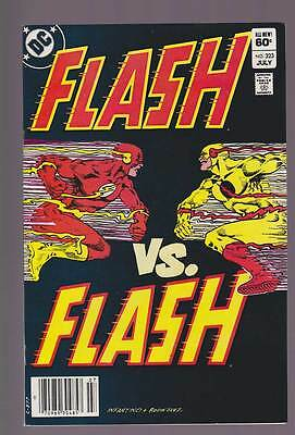 Flash # 323  The Flash versus...the Flash ?  grade 9.2 scarce book !