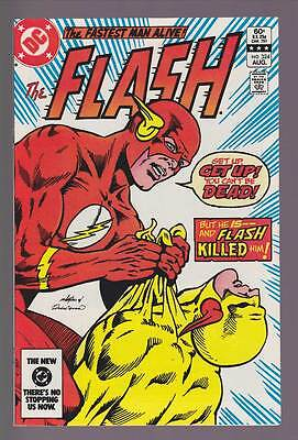 Flash # 324  He's Dead...and the Flash Killed Him !  grade 9.0 scarce book !
