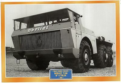Berliet T100 No 4 Tulsa           Glossy   Picture (T395)