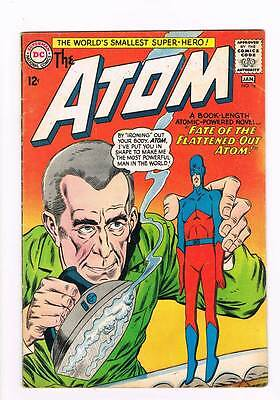 Atom # 16 Fate of the Flattened-Out Atom! kane cover! grade 4.5 scarce book !!