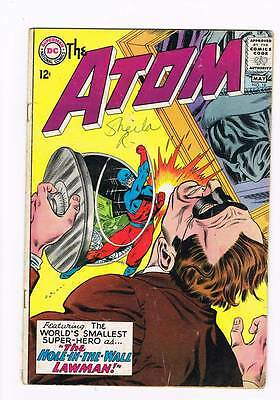 Atom # 18 The Hole-In-The-Wall Lawman! kane cover! grade 4.0 scarce book !!