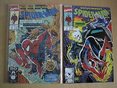 SPIDERMAN #s 6 & 7 by TODD McFARLANE : MASQUES, COMPLETE 2 ISSUE HOBGOBLIN STORY
