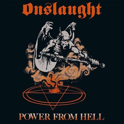 ONSLAUGHT - Power from Hell  LP  BLACK