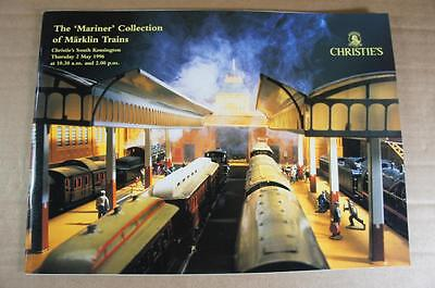 Christie's Marklin 34 page 1996 fully illustrated 567 lot auction catalogue