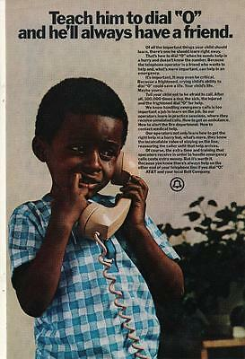 Vintage Magazine Ad - 1972 - AT&T / Bell system - (#3)