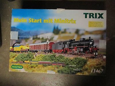 Trix 11467 n scale Freight Train starter set w Free ship!