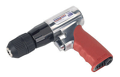 GSA241 Sealey 10mm Reversible Air Drill with Keyless Chuck [Drills]