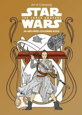 Star Wars Art of Colouring the Force Awakens by Lucasfilm Ltd (Paperback, 2017)