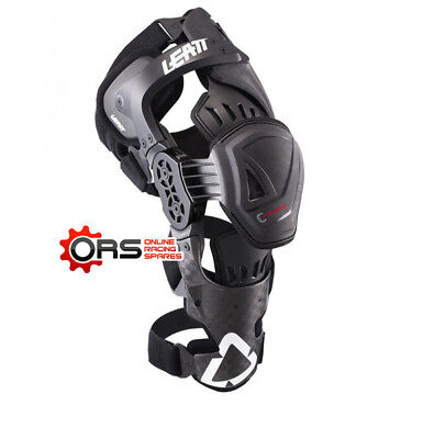 New for 2017 - LEATT C-FRAME KNEE BRACE PRO CARBON  (S/M-LEFT)
