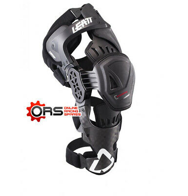 New for 2017 - LEATT C-FRAME KNEE BRACE PRO CARBON  (L/XL-RIGHT)