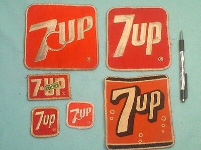 Vintage 7 Up Soda Patches 7Up
