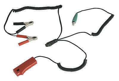 TL93/08 Sealey Lead Set 1.5mtr with Conductive Pick-Up for TL93 [Engine]