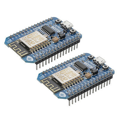 2pcs NodeMcu Lua CH340G WIFI Internet Development Board Base-on ESP8266 TE689