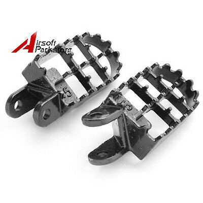 WIDE Footpeg Foot Pegs for Honda CR80R CR85R XR250 XR400 XR600R XR650R XR650L