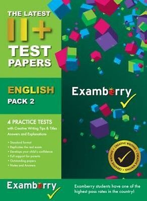 11+ Test Papers English Pack 2 9780957694972 (Pamphlet, 2016)