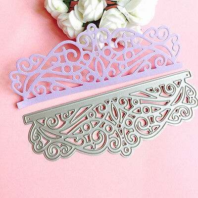 Lace Cutting Dies Stencil DIY Scrapbooking Album Paper Card Embossing Craft
