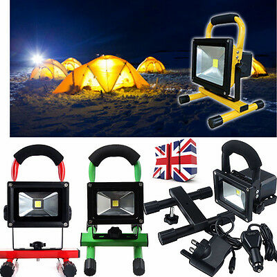 10W 20W 30W 50W Work Light Portable Outdoor LED Floodlight Rechargeable Lamp Hot