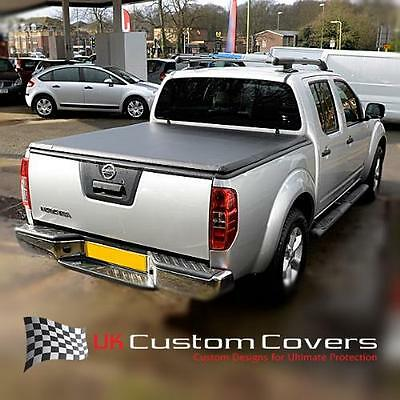 Fits Nissan Navara 05-16 D40 Tri Fold Soft Tonneau Cover Double Cab No Drill 274