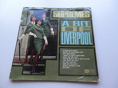 The Supremes  Original  1964  Indian  Lp   A Bit Of Liverpool   Stateside