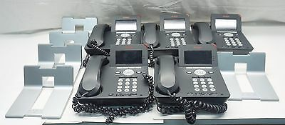 LOT 5x Avaya One-X 9620C Color LCD PoE VoIP Office Business IP Phone