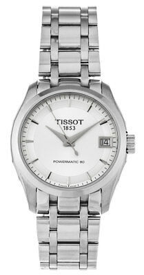Tissot Couturier Powermatic 80 Automatic Women's Watch T0352071103100 New Orig