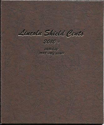 2010  2017 Lincoln Shield Cent Set-Complete P  D Bu And S Proof In Dansco Album