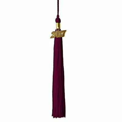 Graduation Tassel Year 2017 with gold charm-Parent