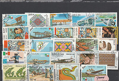Laos Postes Lao older Postage stamps Los Right 3616