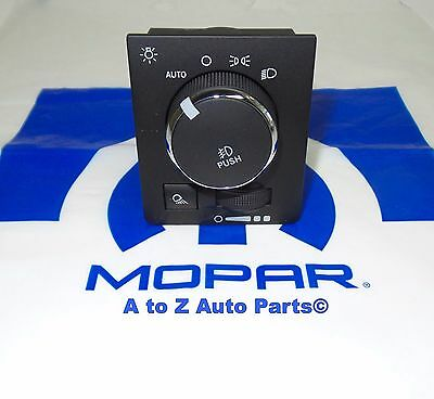 Dodge Ram 1500 2500 3500 4400 5500 Headlight Lamp Dash Switch Mopar OEM