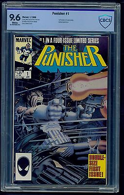 Punisher Limited Series #1 (1986) CBCS Graded 9.6 ~ Mike Zeck ~ Not CGC