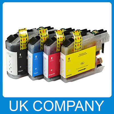 Multipack Ink Cartridges for Brother LC223 LC123 LC127 LC125