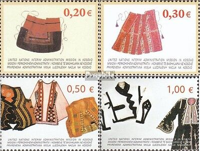 kosovo (UN-Administration) 22-25 mint never hinged mnh 2004 Costumes