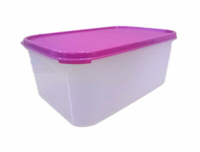 Tupperware Modular Mates Rectangle 2, 17 cup or 4.3L Airtight Food Container New