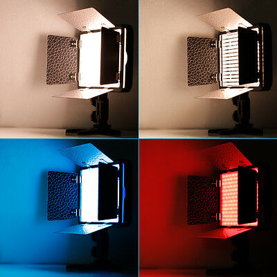Neewer LED310 Barndoor Dimmable Video Light for Canon Nikon and All  DSLR