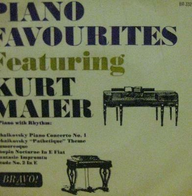 "Kurt Maier(7"" Vinyl)Piano Favourties-Bravo-BR332-UK-1964--Ex/VG"