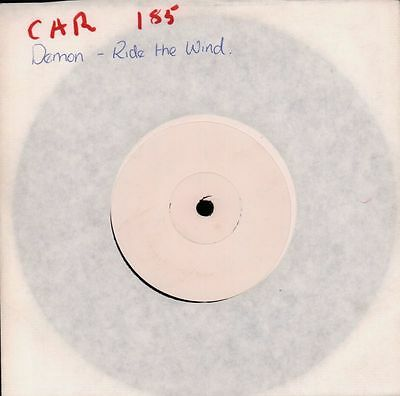 "Demon(7"" Vinyl)Ride The Wind-Carrere-CAR185-1981--NM"
