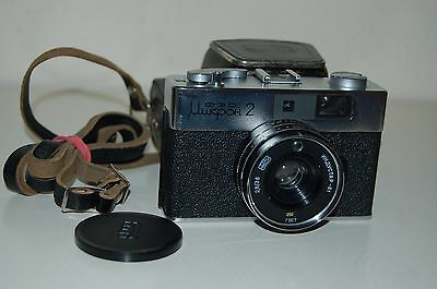 Fed Mikron-2 Rare Vintage Soviet Compact Rangefinder Camera. No.570303. UK Sale