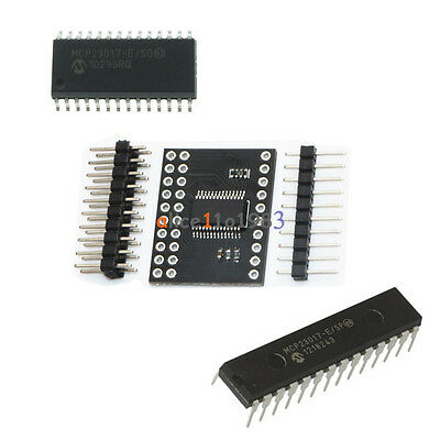 MCP23017 DIP SOP  Bidirectional 16-Bit I/O Expander I2C IIC Serial Interface