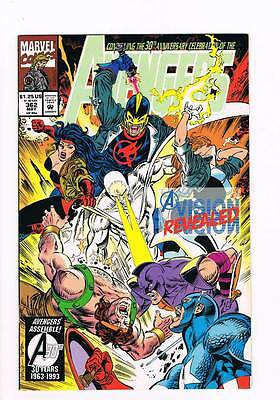 Avengers # 362 A Vision Revealed ! grade - 9.0 scarce book !!