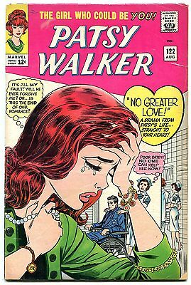 Patsy Walker #122 1965-Marvel silver age- wheelchair cover poor