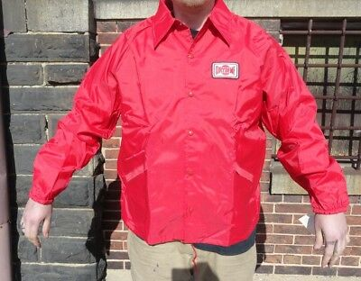 VINTAGE AUTOMOTIVE Jacket (XL) (NOS) 70's-80's DRYDENE * R J LOOCK * Balt MD