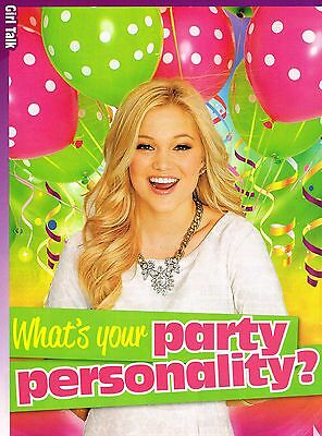 "OLIVIA HOLT - NICE SMILE - 11"" x 8"" MAGAZINE PINUP - POSTER - TEEN GIRL ACTOR"