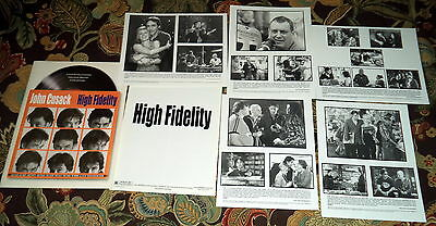 2000 High Fidelity Movie Press Release Package/Kit John Cusack