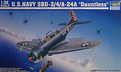 TRUMPETER® 02242 US Navy SBD-3/4/A-24A Dauntless in 1:32