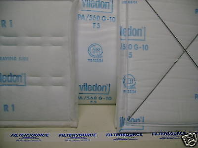 """Blowtherm Prep Station 75""""x120"""" Ceiling Diffusion Filter Viledon PA560 G10"""