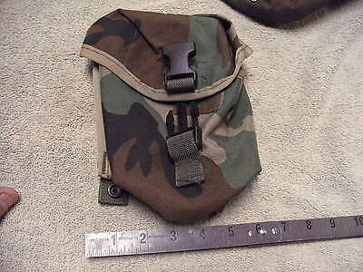 US Military Issue Woodland Camo Molle II SAW Pouch