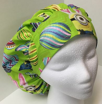 Easter Minion Large Medical Bouffant OR Scrub Cap Surgery Hat