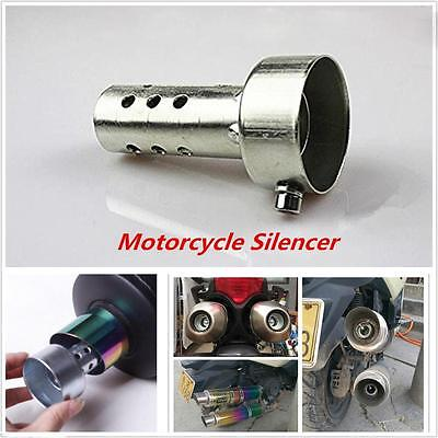 Adjustable & Removable Motorcycle Exhaust Can Muffler Baffle DB Killer Silencer